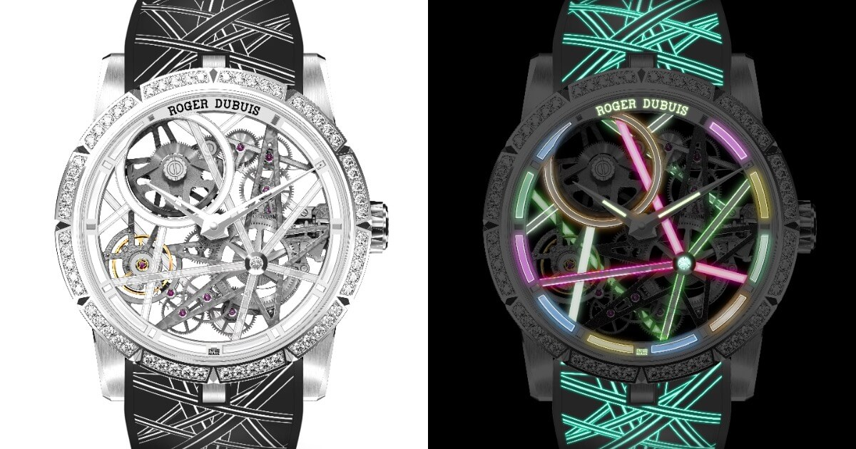 Roger Dubuis Excalibur Blacklight (Pictures and Specifications)