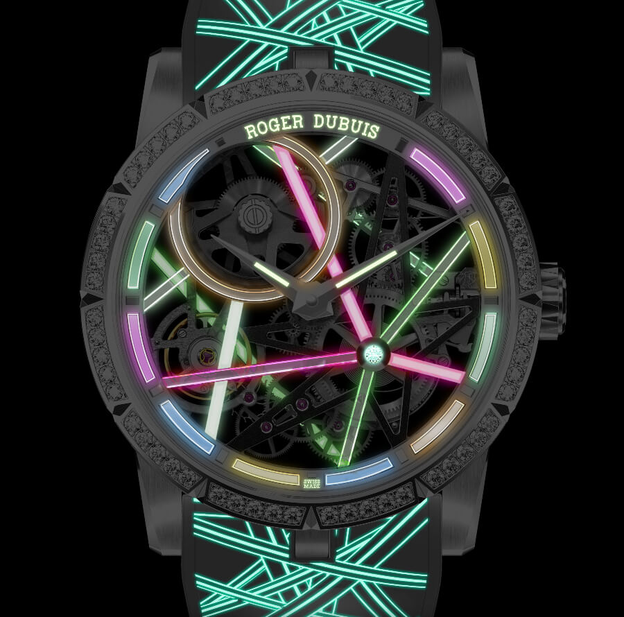 The New Roger Dubuis Excalibur Blacklight RDDBEX0834