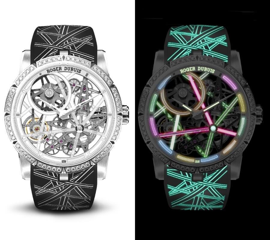 Roger Dubuis Excalibur Blacklight RDDBEX0834 Watch Review