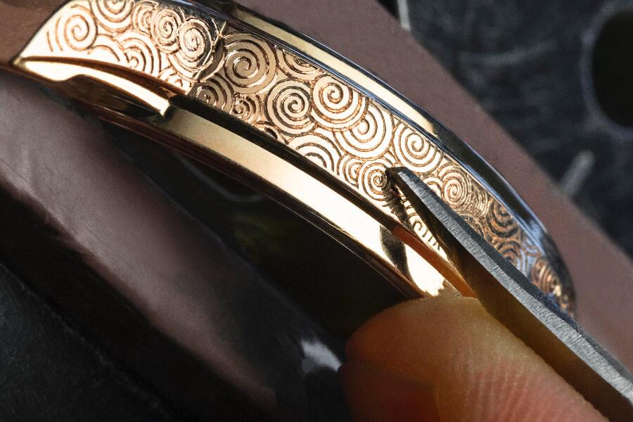 Vacheron Constantin Traditionnelle Tourbillon 89000/000R-B645 Engraving