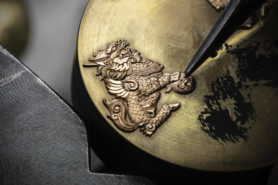 Vacheron Constantin Traditionnelle Tourbillon 89000/000R-B645 Pounced Ornament
