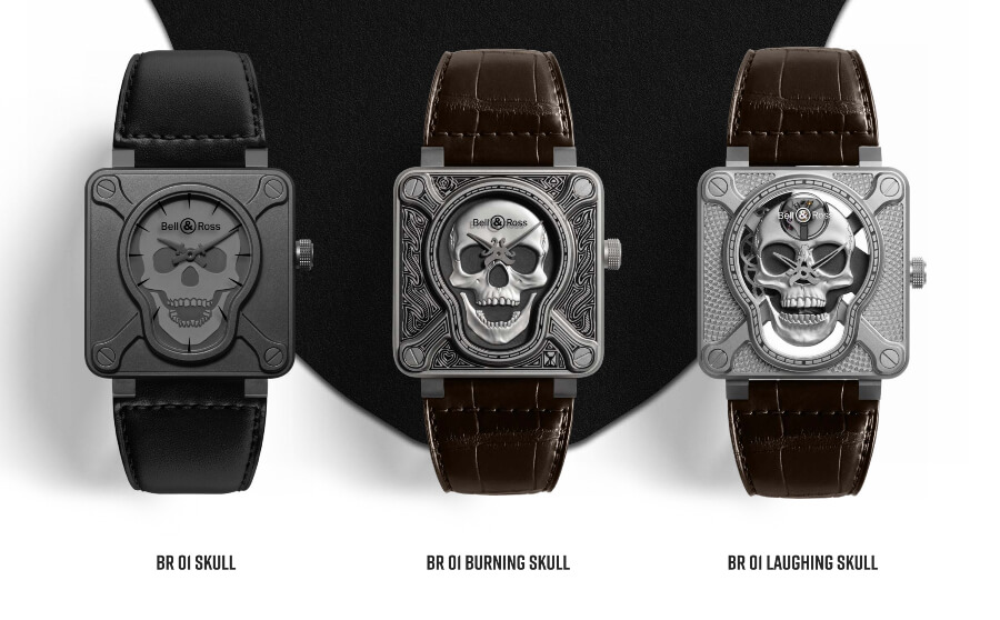 Bell & Ross BR Skull Collection
