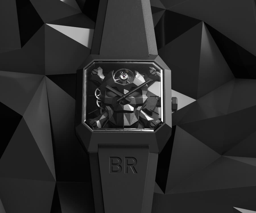 Bell Ros Skull watch