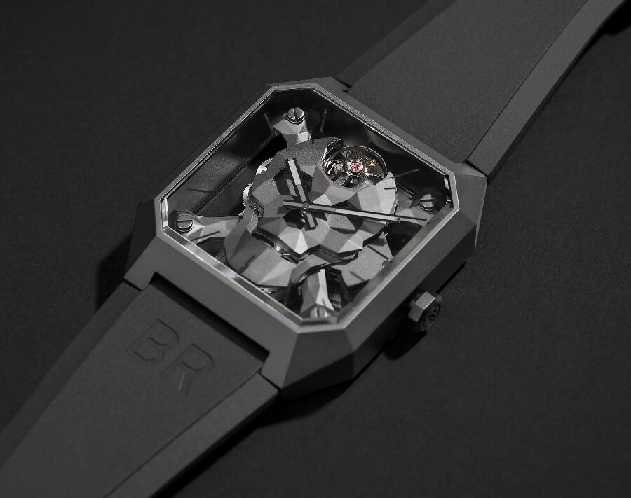 Bell & Ross BR 01 Cyber Skull Watch Review