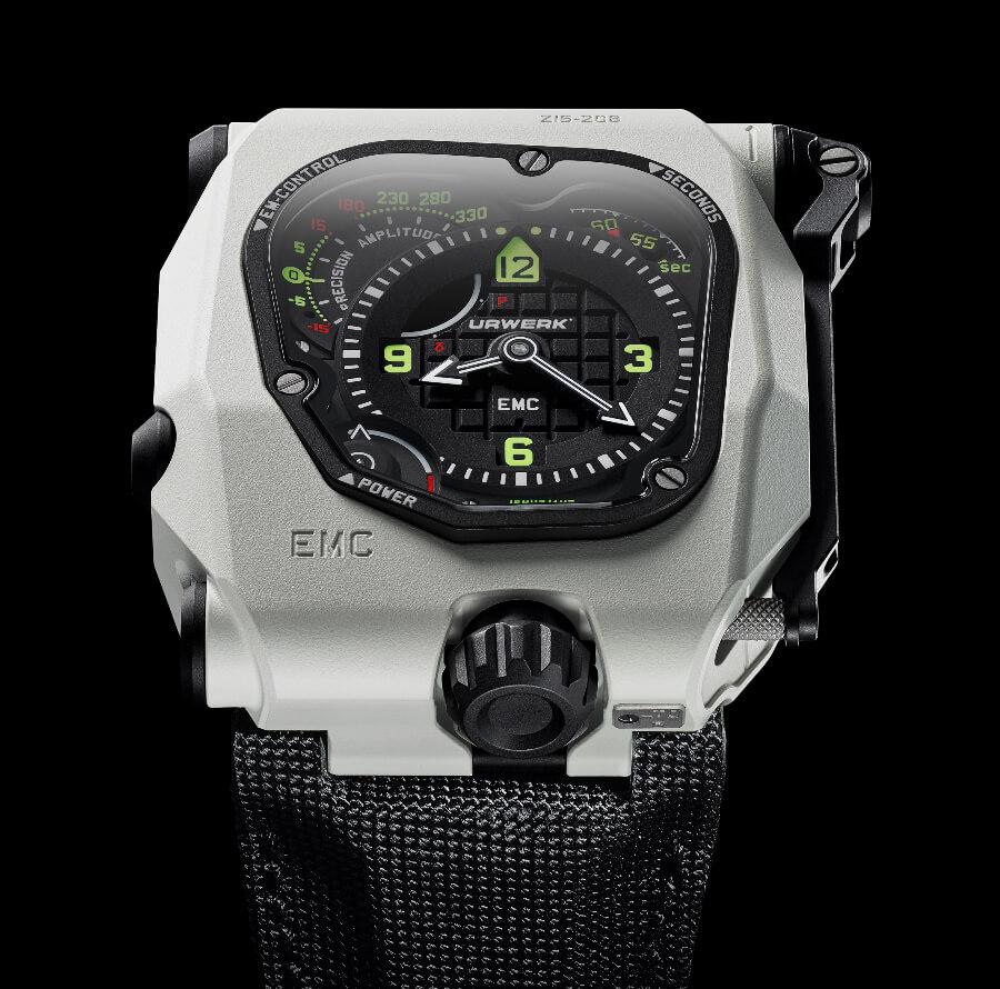 The New Urwerk EMC TimeHunter White Ceramic Stormtrooper