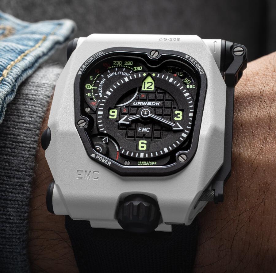 Urwerk EMC TimeHunter White Ceramic Stormtrooper Watch Review