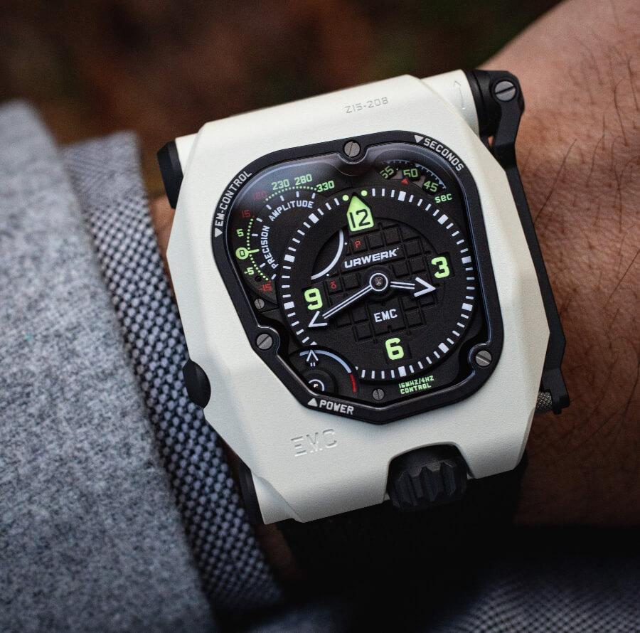 Urwerk EMC TimeHunter Stormtrooper Watch Review