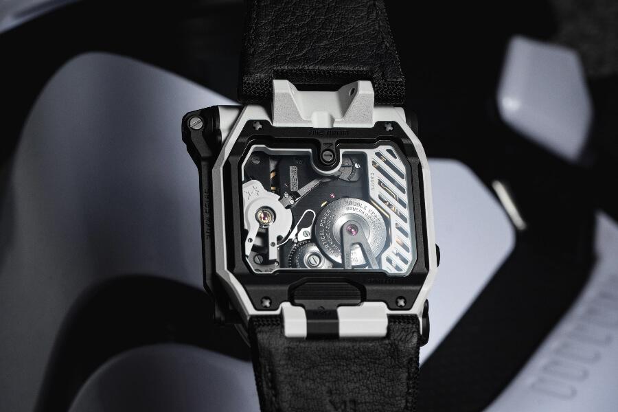 Urwerk EMC TimeHunter Stormtrooper Watch Movement
