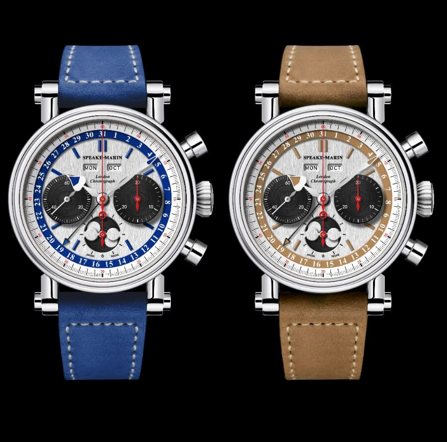 The New Speake-Marin London Chronograph Triple Date