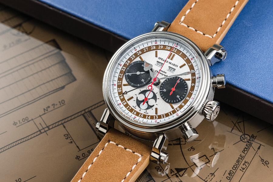 Valjoux 88 Speake-Marin London Chronograph Triple Date