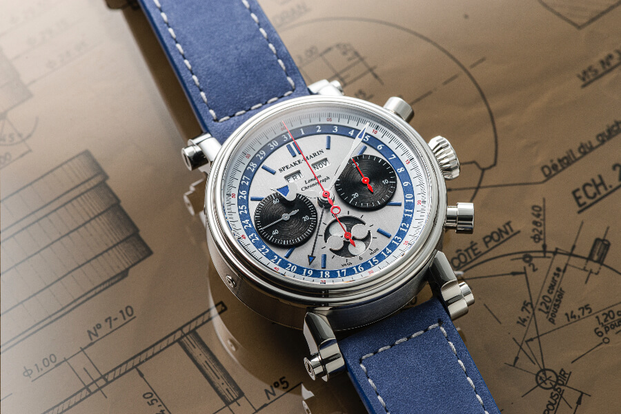 Speake-Marin London Chronograph Triple Date Ref. 514208010