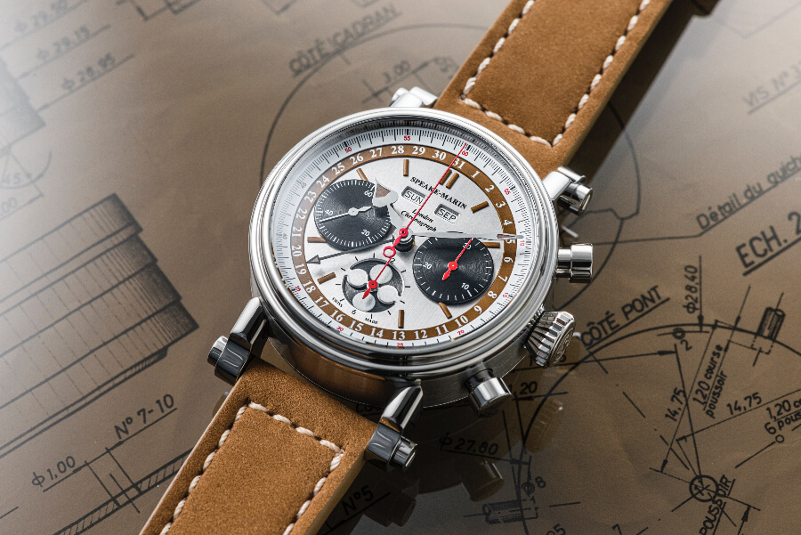 Speake-Marin London Chronograph Triple Date Ref. 514208050 Watch Review