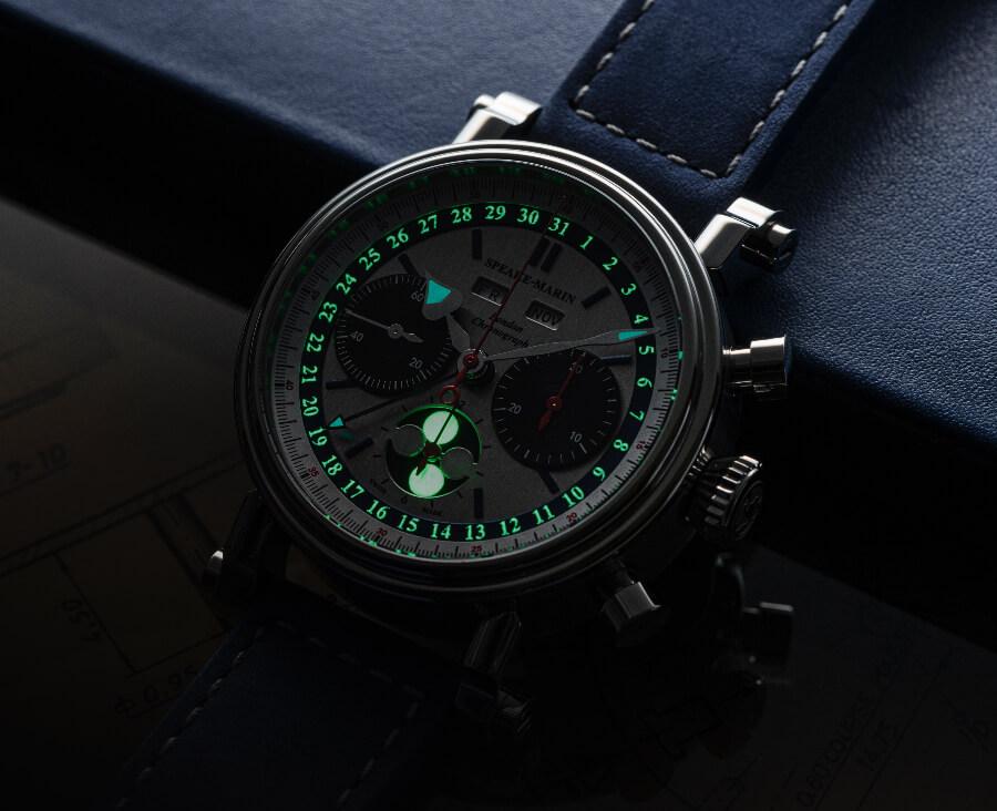 Speake-Marin London Chronograph Triple Date Superluminova