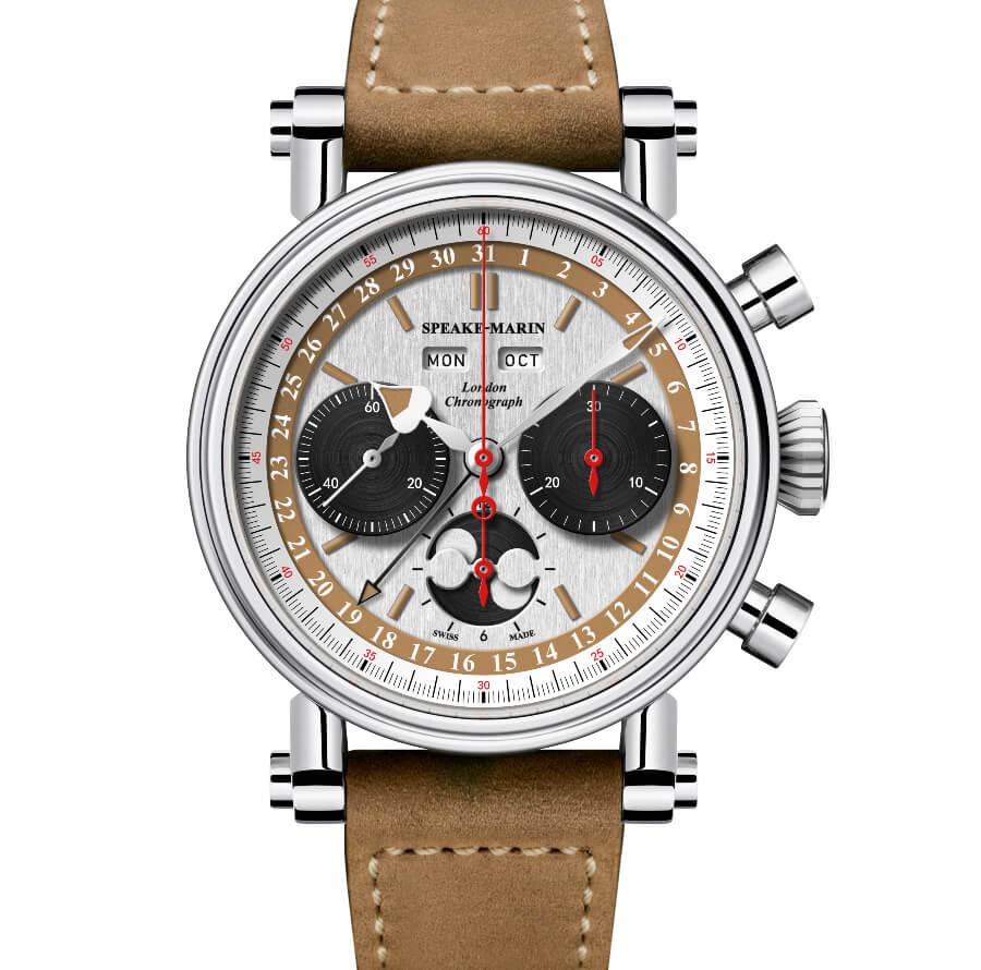 Speake-Marin London Chronograph Triple Date Valjoux 88