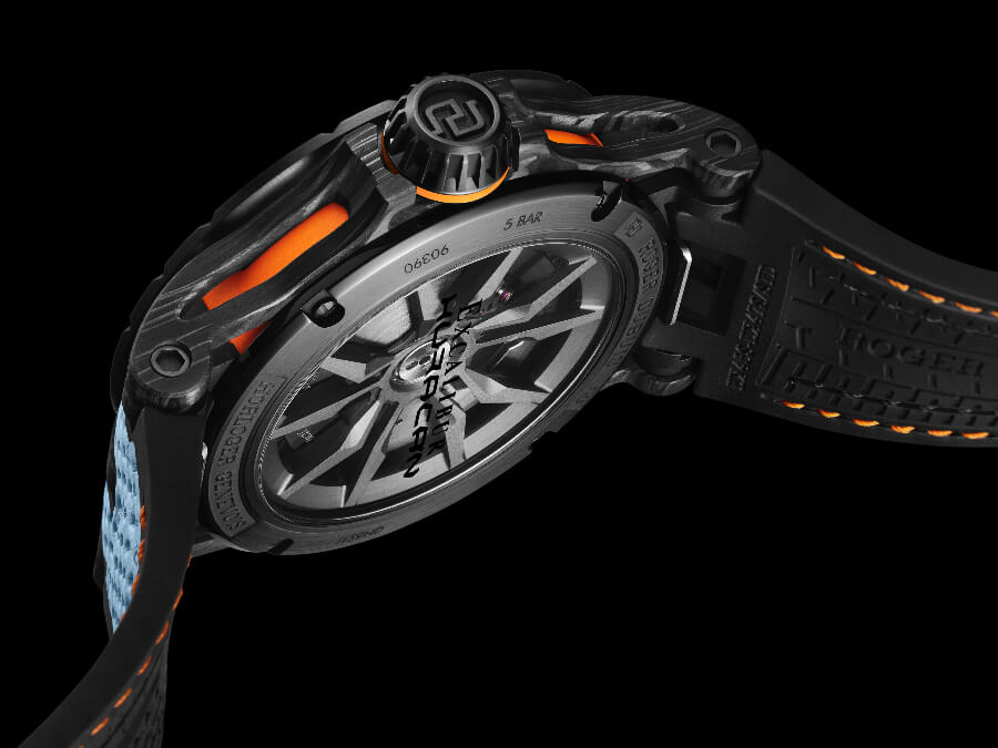 Roger Dubuis Excalibur Huracán STO In House Movement