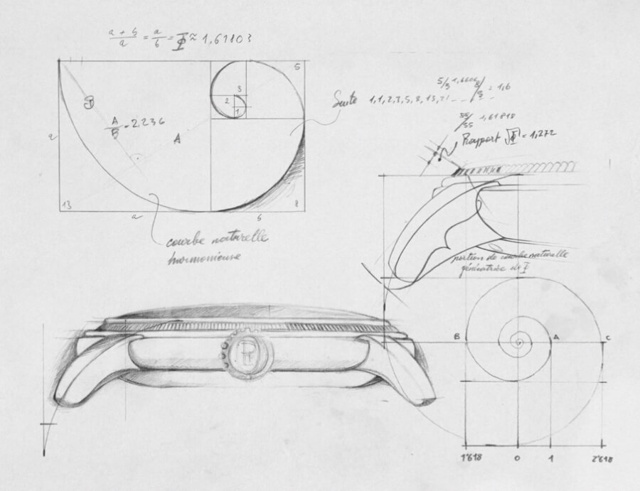 Toric collection sketch by Michel Parmigiani