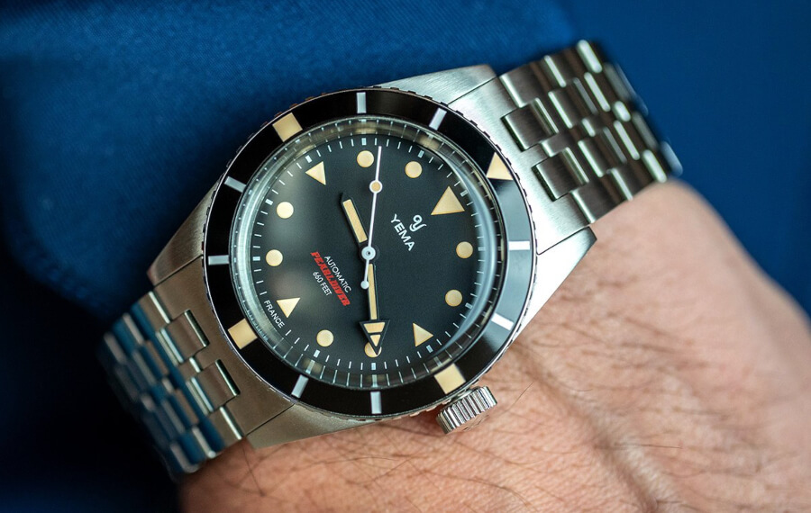 Yema Pearldiver Watch Review