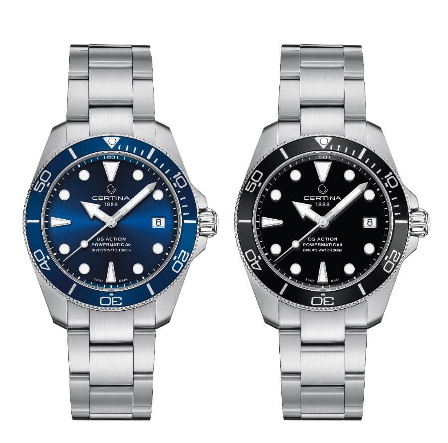 The New Certina DS Action Diver 38 MM