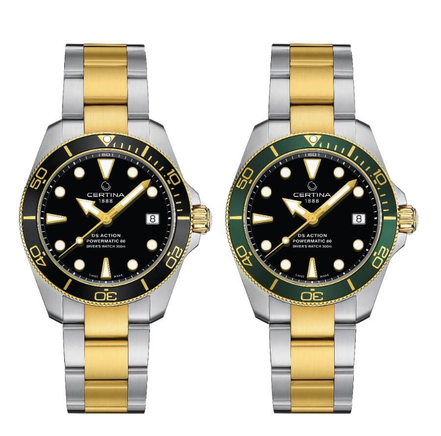 Two Tone Diver Watches