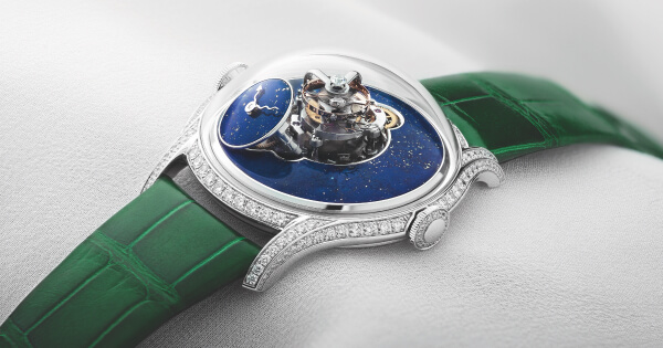 MB&F Legacy Machine FlyingT Lapis Lazuli (Price, Pictures and Specifications)