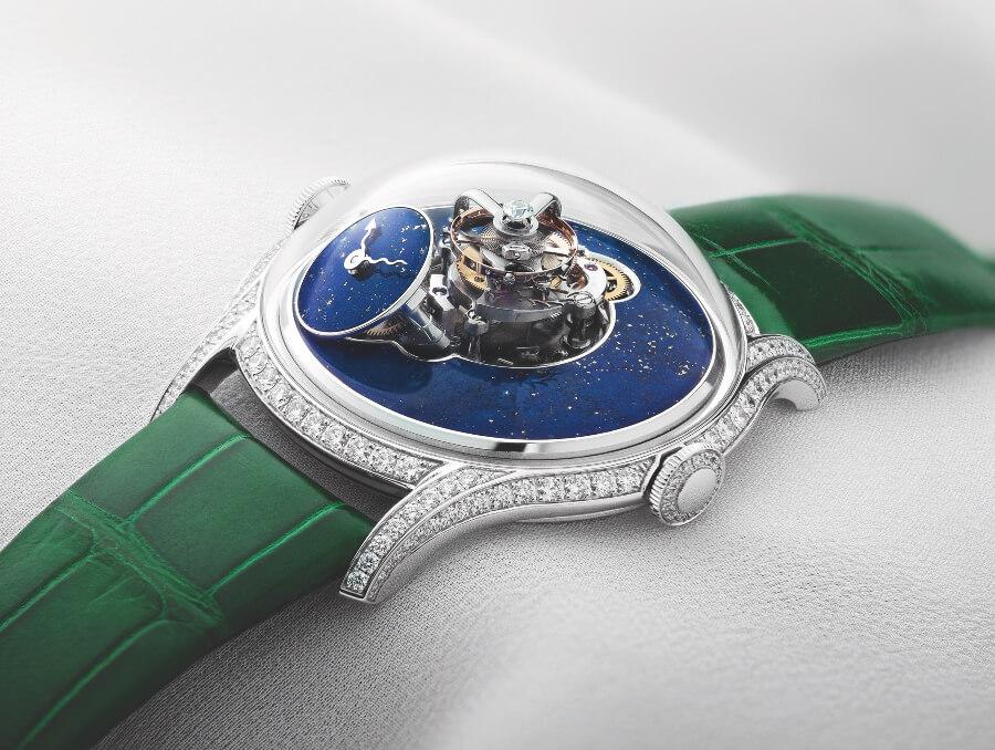 MB&F Legacy Machine FlyingT Lapis Lazuli Watch Review