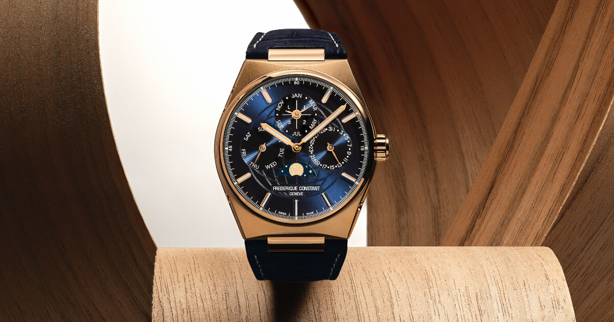 Frederique Constant Highlife Perpetual Calendar Manufacture In 18-Carat Rose Gold (Price, Pictures and Specifications)