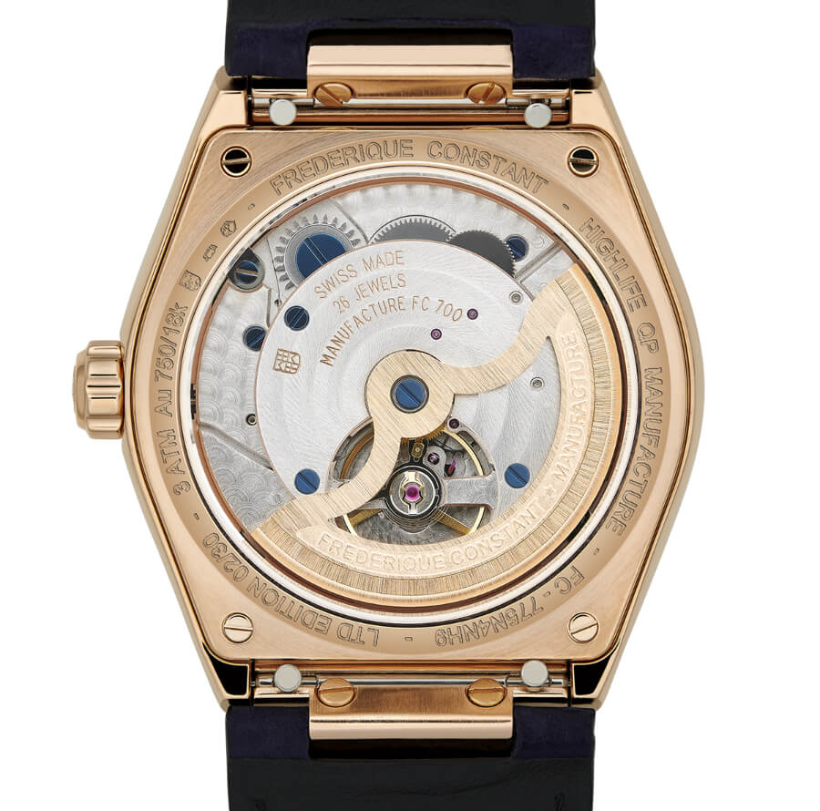 Frederique Constant Highlife Perpetual Calendar Manufacture In House Movement