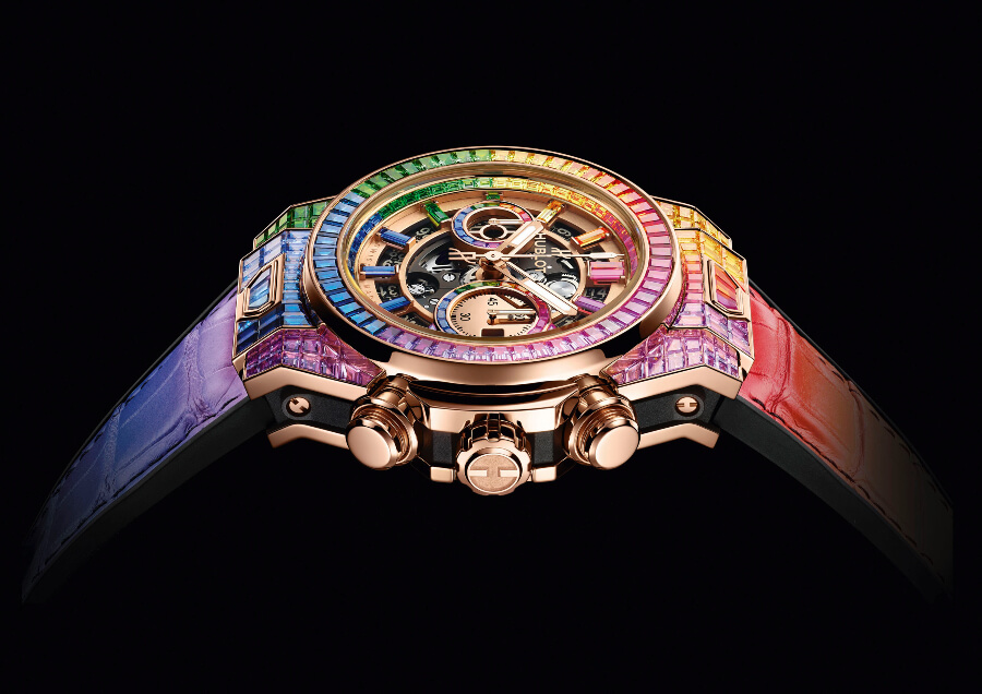 Rolex Daytona Rainbow Watch