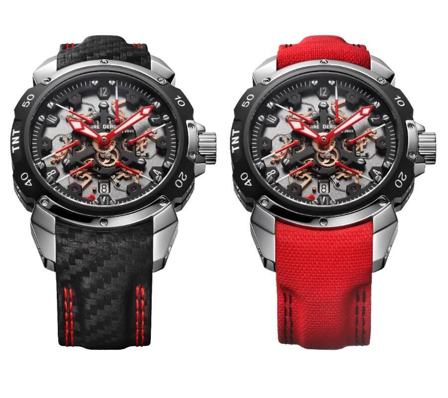 Retrograde Seconds Watch