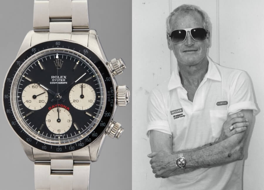 "Paul Newman's Rolex ""Big Red"" Daytona Ref. 6263"