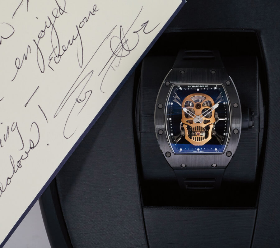 Sylvester Stallone Watch Richard Mille Ref. RM52-01