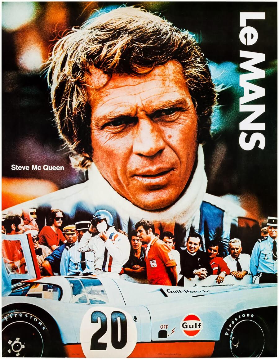 Vintage Leman Poster Steve McQueen