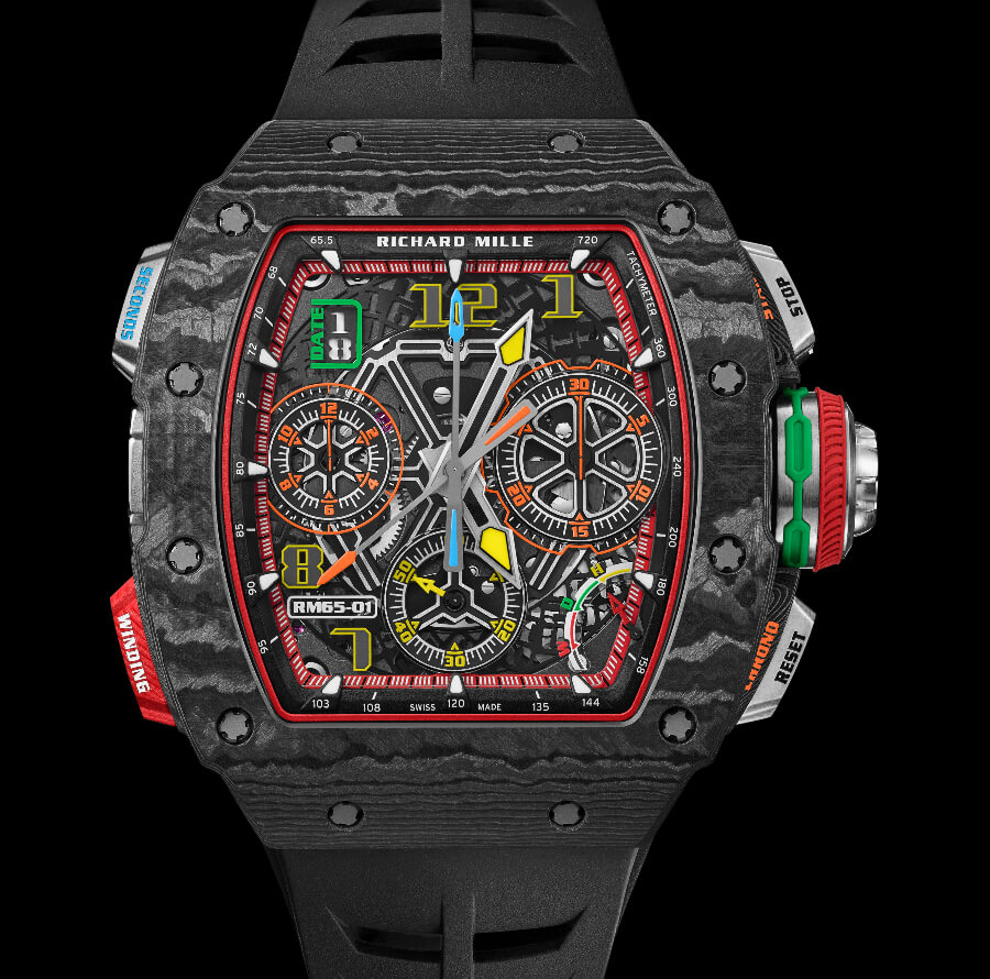 The New Richard Mille RM 65-01 Automatic Split Seconds Chronograph