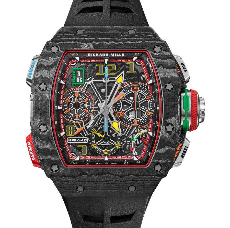Men Watches Richard Mille RM 65-01 Automatic Split Seconds Chronograph