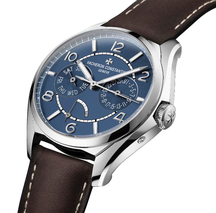 Vacheron Constantin Fiftysix Day-Date Petrol Blue Dial Ref. 4400E/000A-B943