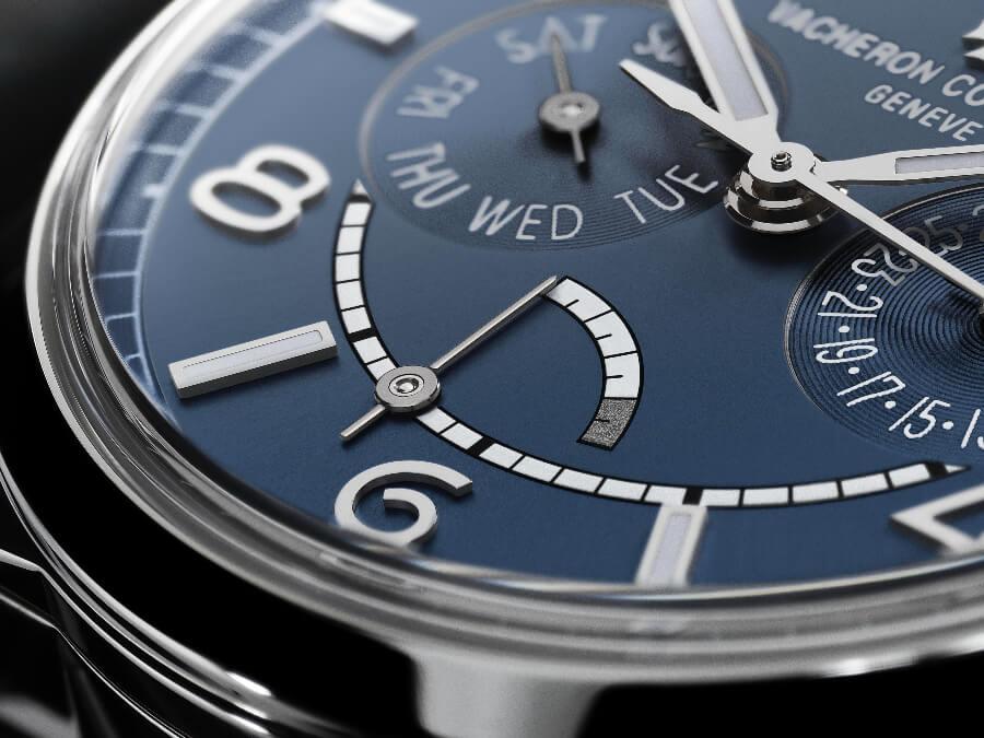 Vacheron Constantin Fiftysix Day-Date Petrol Blue Dial Ref. 4400E/000A-B943 Dial