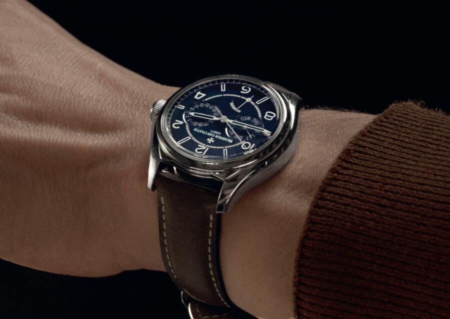 Vacheron Constantin Fiftysix Day-Date Petrol Blue Dial Ref. 4400E/000A-B943 Watch Review