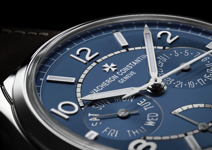 Vacheron Constantin Fiftysix Day-Date Petrol Blue Dial