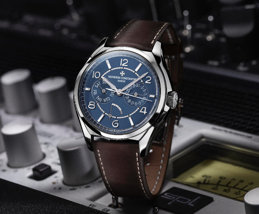Vacheron Constantin Fiftysix Day-Date Petrol Blue Dial Watch Review