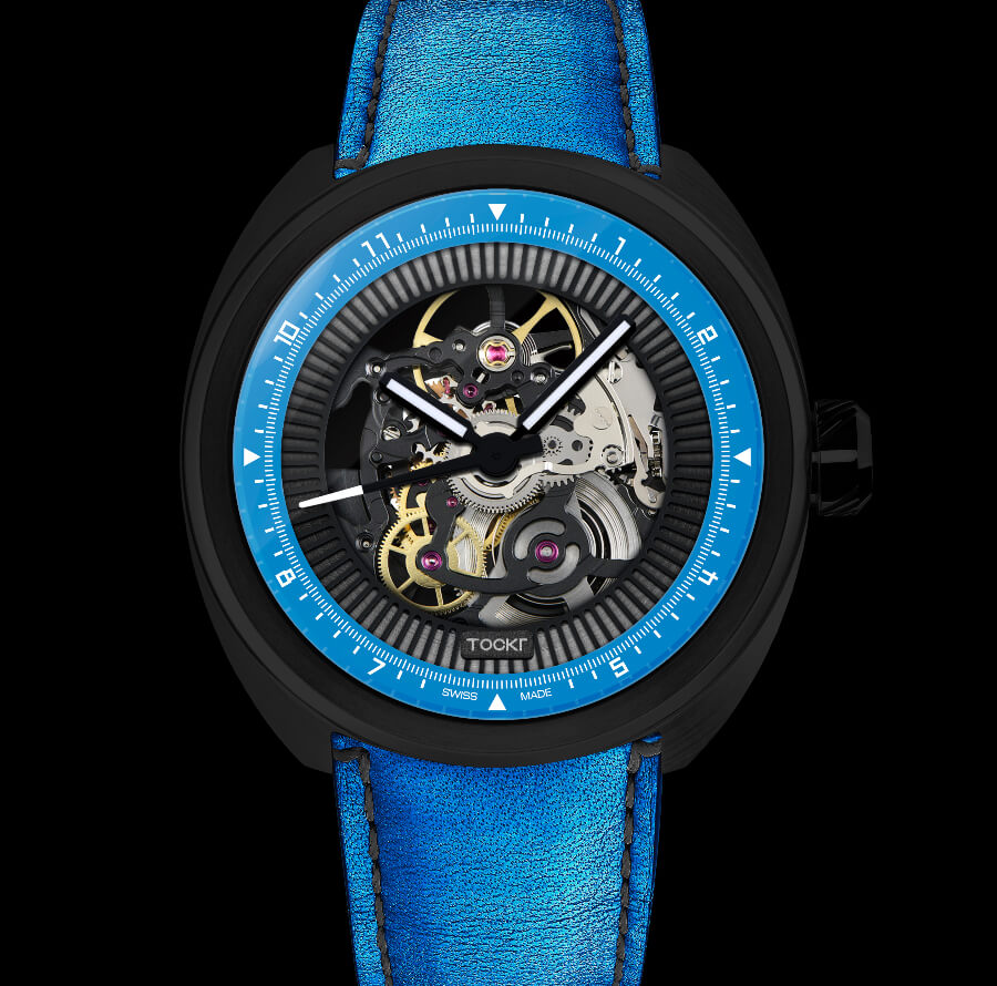 "Review Tockr C-47 Skeleton Automatic ""Hugo"""