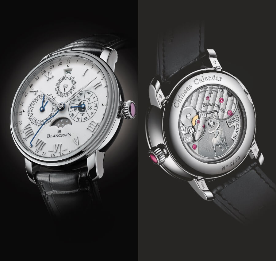 Blancpain Villeret Traditional Chinese Calendar Year Of The Metal Ox Ref. 00888I-3431-55B