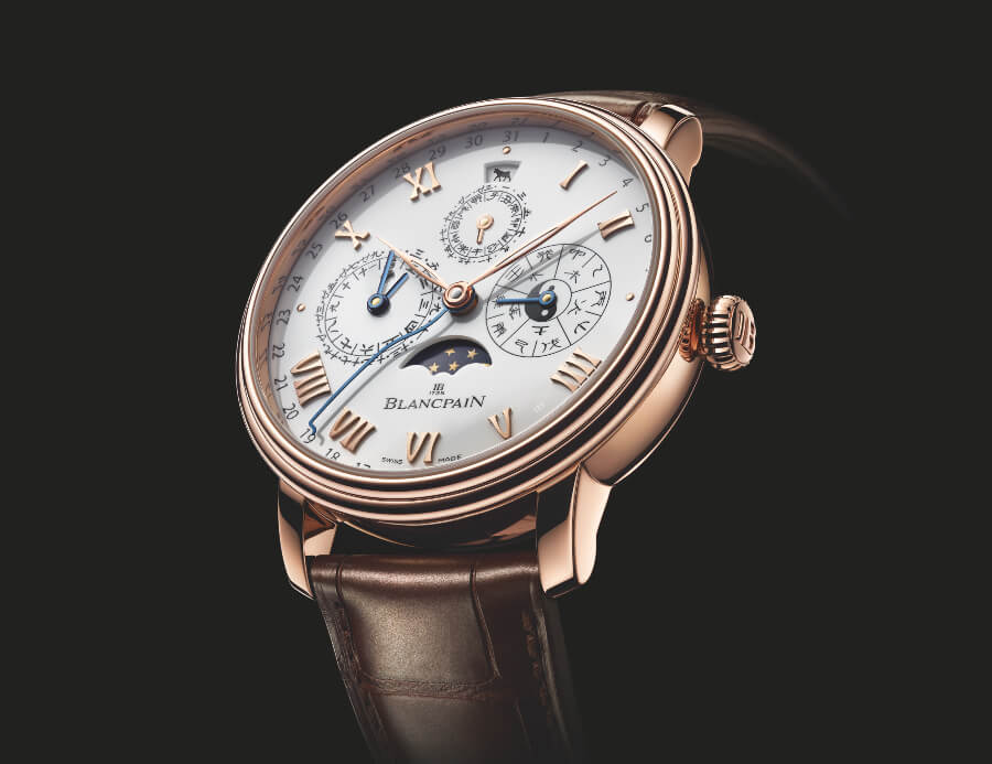Blancpain Villeret Traditional Chinese Calendar Year Of The Metal Ox Gold Version