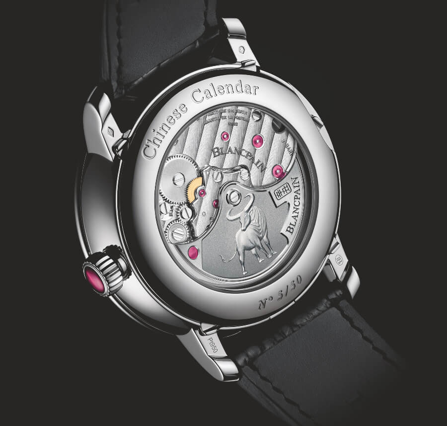 Blancpain Villeret Traditional Chinese Calendar Year Of The Metal Ox Ref. 00888I-3431-55B  In House Movement
