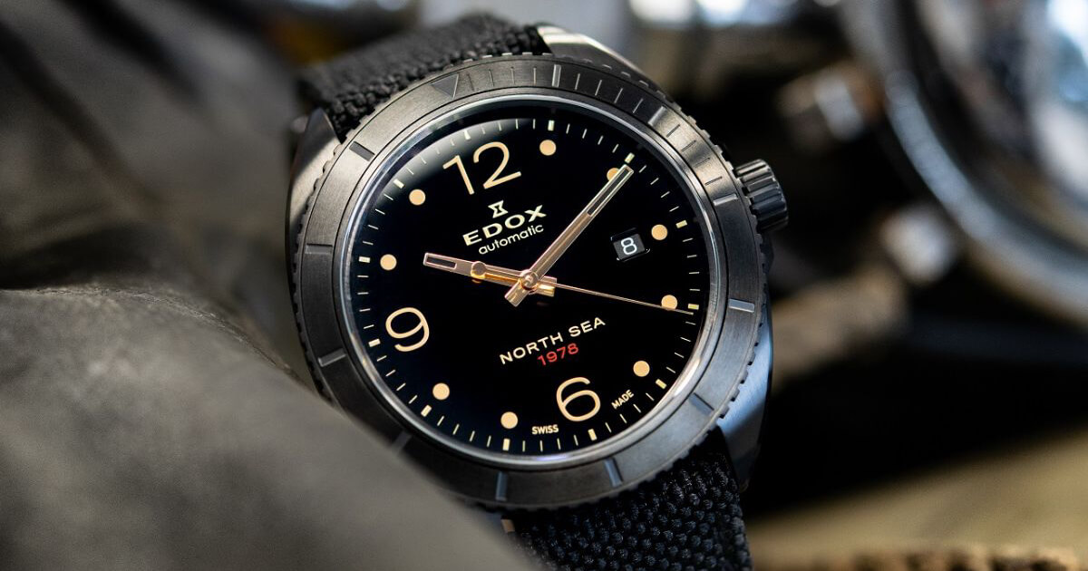 Edox North Sea 1978 The Inverse Moon Landing (Price, Pictures and Specifications)