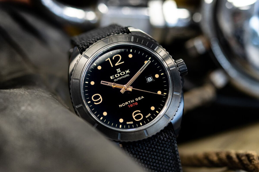 Review Edox North Sea 1978 Automatic Special Edition- The Inverse Moon Landing