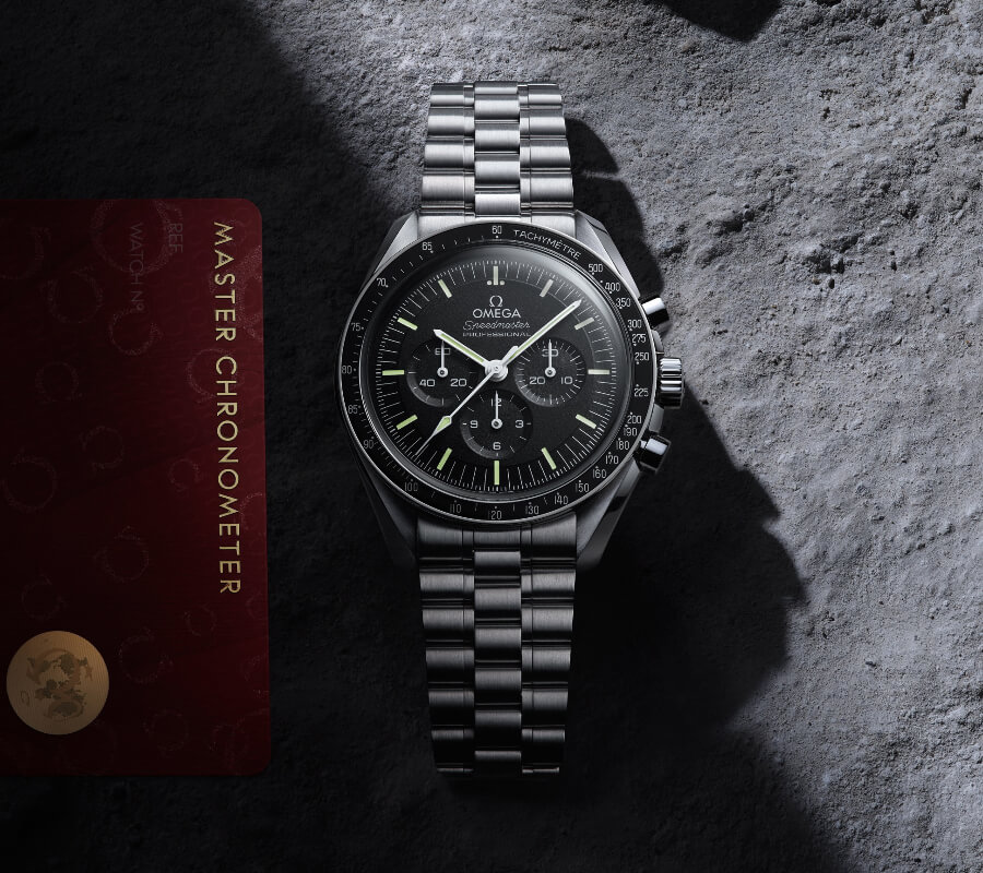 Omega Speedmaster Moonwatch Master Chronometer With Caliber 3861