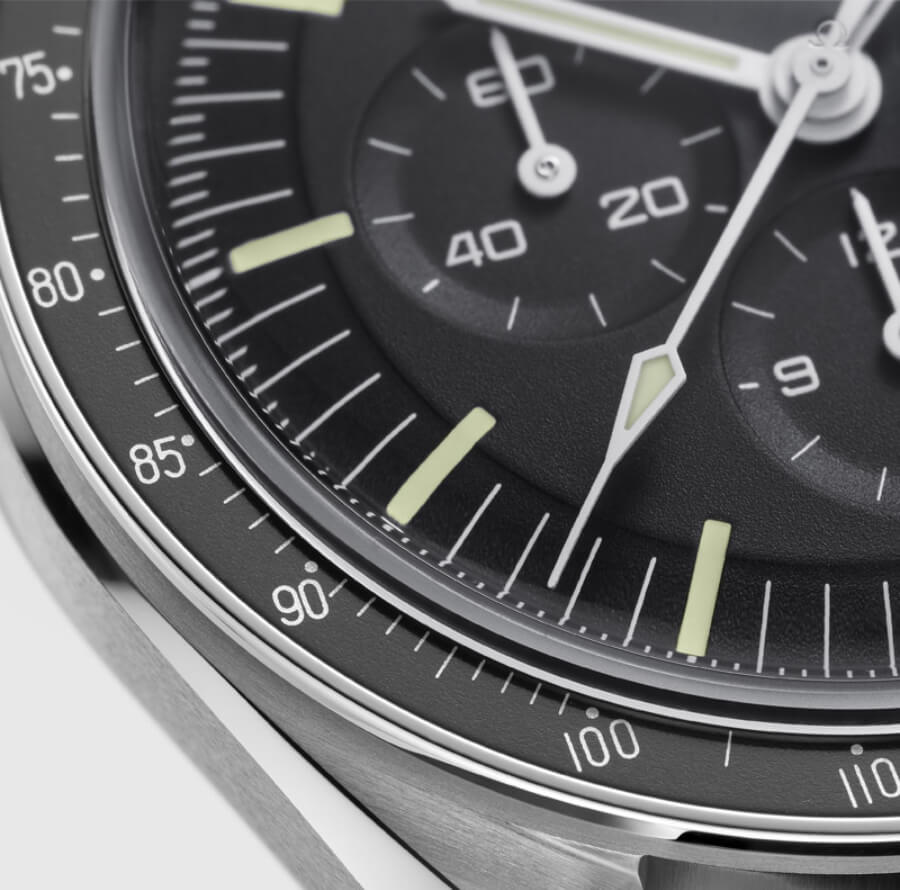 The New Omega Speedmaster Moonwatch Professional Co-Axial Master Chronometer Chronograph 42 mm