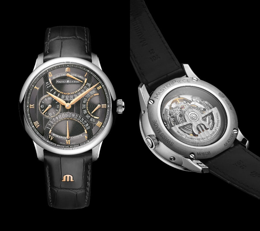 Maurice Lacroix Masterpiece Triple Retrograde Ref. MP6538-SS001-310-1