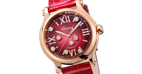 Chopard Happy Sport 18-Carat Rose Gold Ref. 275378-5005 (Price, Pictures and Specifications)