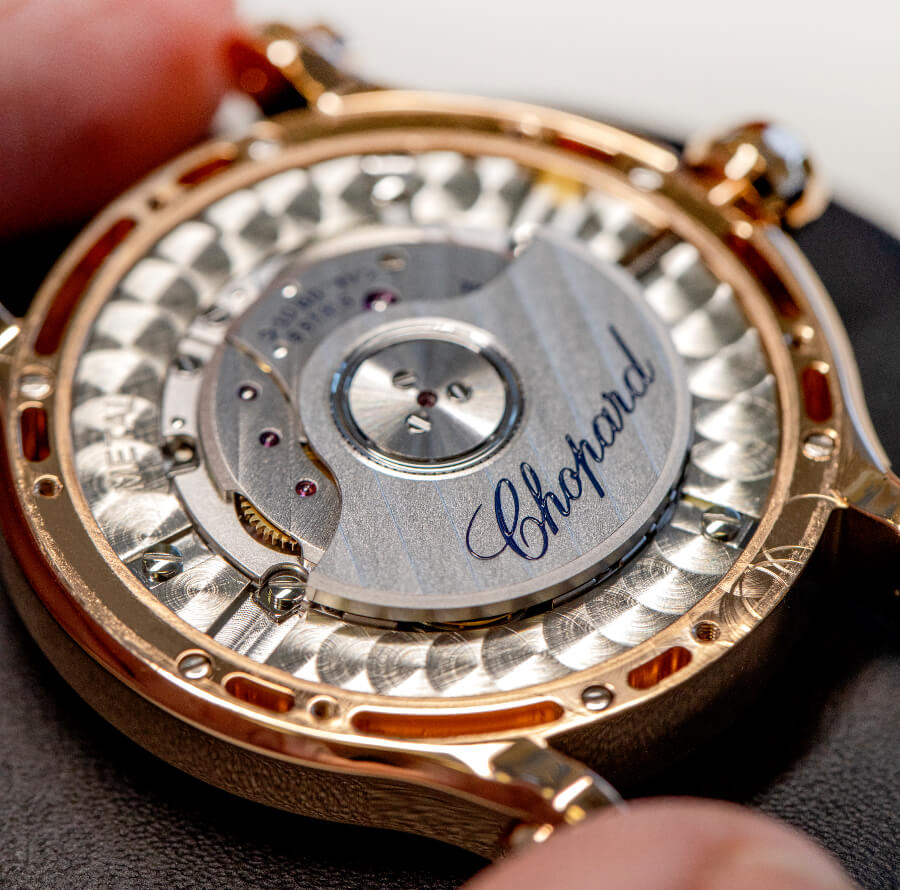 Chopard In House Movement